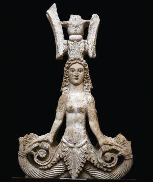 Uma das peças dos tesouros da Crimeia expostos em Amsterdã.