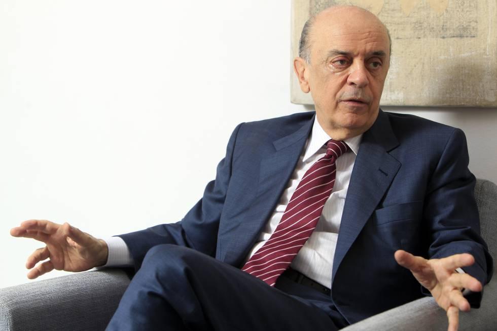 Chanceler brasileiro José Serra.