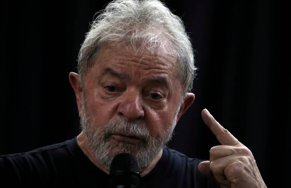 O ex-presidente Lula no início deste ano.