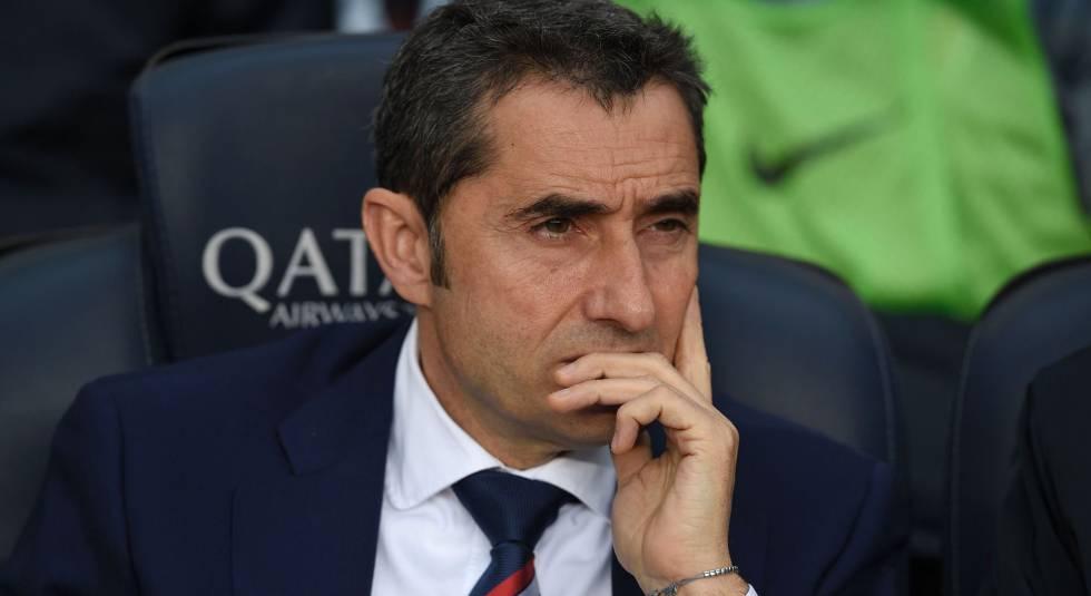 Ernesto Valverde, novo treinador do Barcelona.