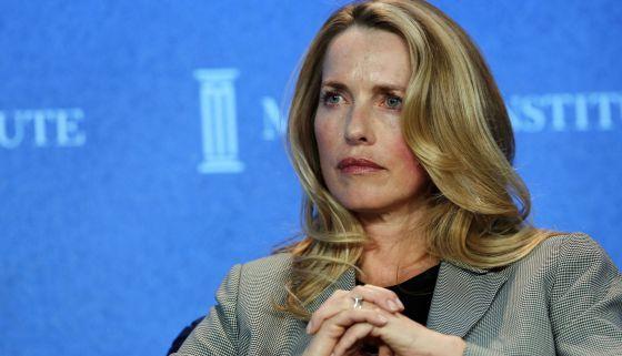 Lauren Powell, viúva de Steve Jobs.
