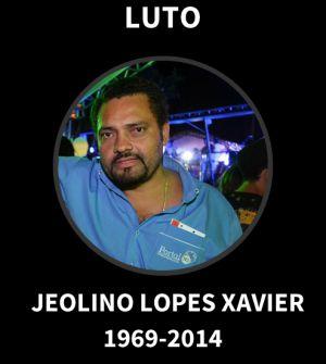 O jornalista assassinado em imagem publicada na capa veículo do qual era dono.