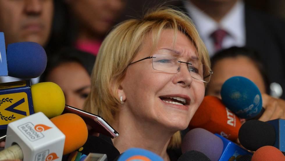 A procuradora-geral da Venezuela, Luisa Ortega.