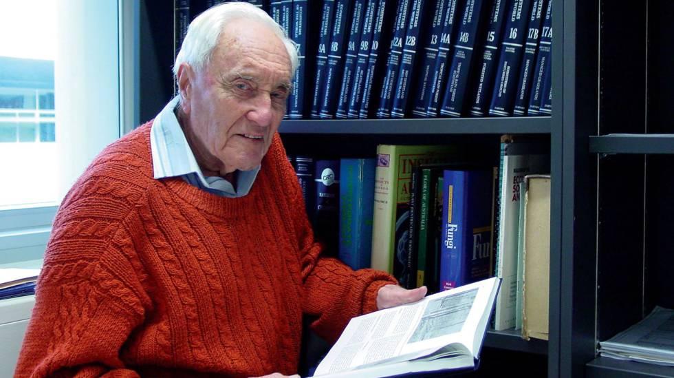 David Goodall em sua casa, em Perth (Austrália), em uma foto de arquivo