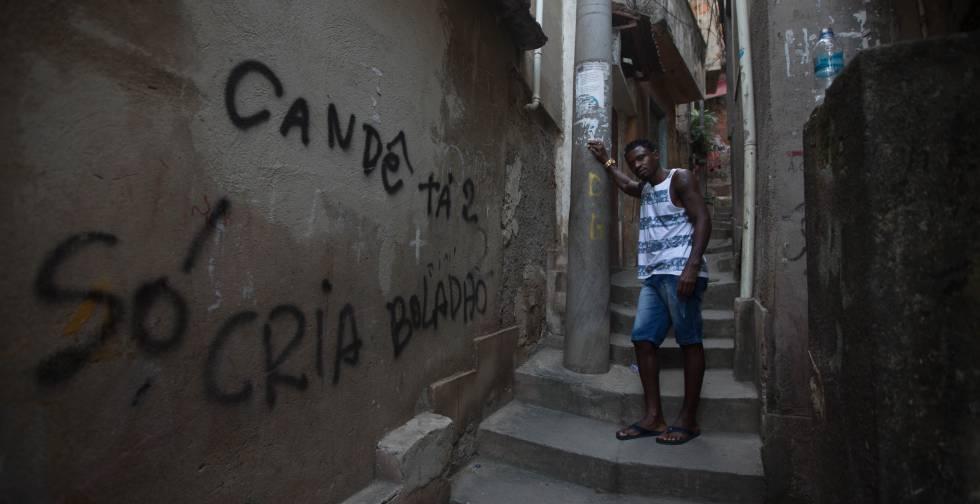 Fabio da Hora Serra, o Sagat, em entrevista ao EL PAÍS no Rio de Janeiro.