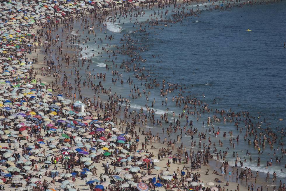 Praia de Ipanema.