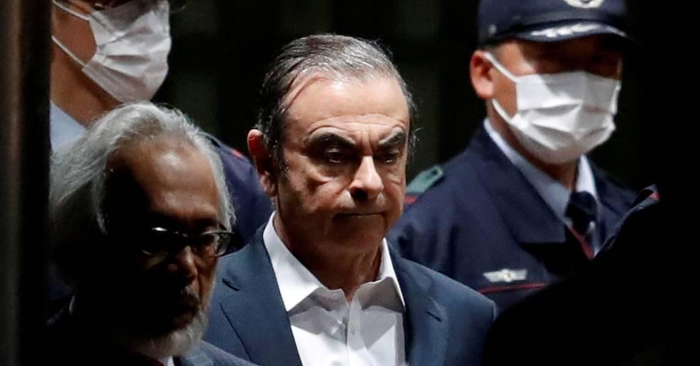 El expresidente de Renault, Nissan y Mitsubishi, Carlos Ghosn.