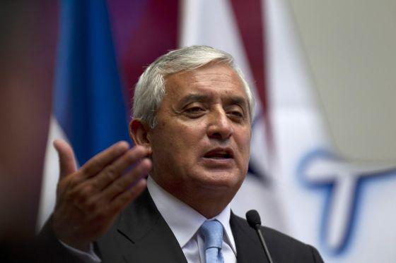 O presidente de Guatemala, Otto Pérez Molina.