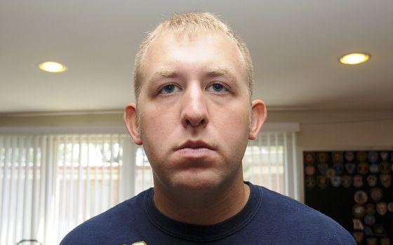 O agente Darren Wilson.