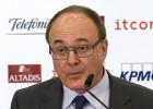 Luis Linde afirma que as entidades não teriam acesso ao BCE, embora seja uma 'condição muito improvável'