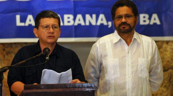 Pablo Catatumbo e Iván Márquez anunciam uma trégua na violência.
