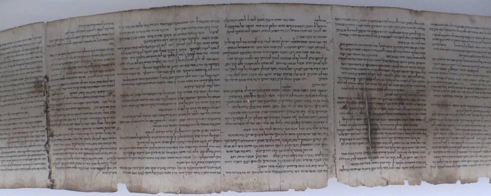 O Museu de Israel desvela fragmento desconhecido dos Rollos do Mar Morrido