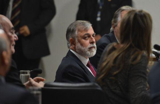 Paulo Roberto Costa no Congresso pela segunda vez.