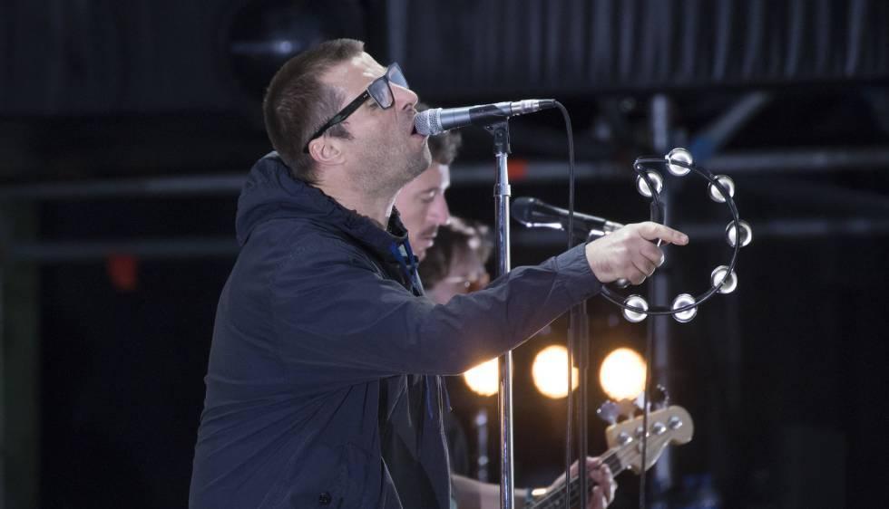 Liam Gallagher em Madri