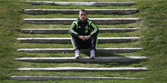 O jogador Thiago Alcântara.