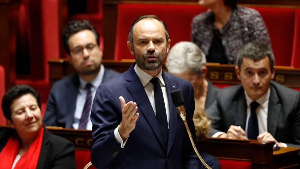 O primeiro-ministro francês Édouard Philippe.