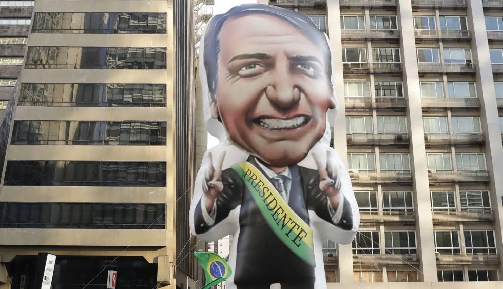 Ato Pró-Bolsonaro em São Paulo.