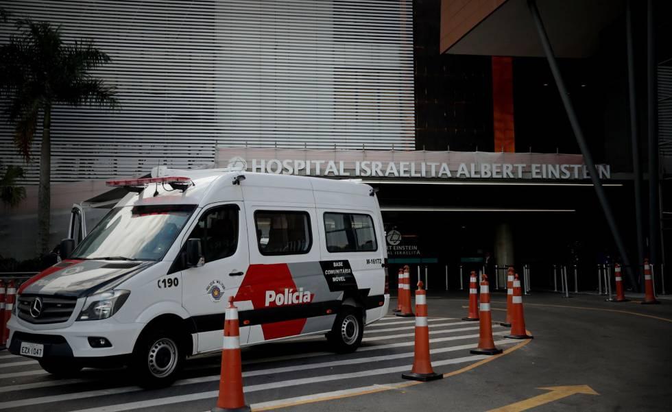 Presidente segue internado no Hospital Albert Einstein, em São Paulo, que conta com segurança reforçada.