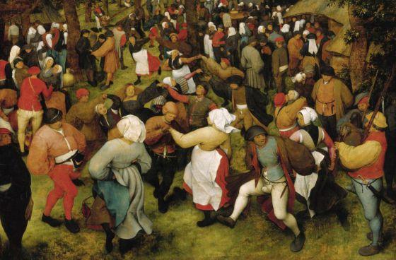 'O baile de casamento', de Pieter Bruegel, o Velho.