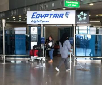 Avião desaparecido no Egito