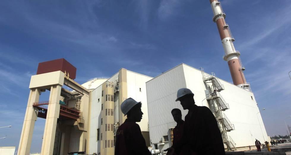 Reator da usina nuclear iraniana de Busher, a 1.200 quilômetros de Teerã.