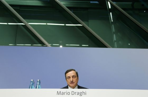 O presidente do Banco central Europeu, Mario Draghi.