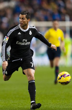 Cristiano Ronaldo, no fim de semana, no jogo contra o Málaga.