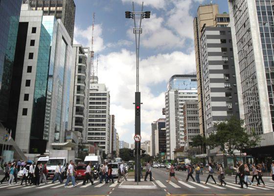Avenida Paulista: proposta quer fechar trânsito aos domingos.