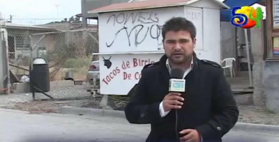 O jornalista mexicano Luciano Rivera.