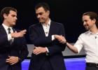 No primeiro debate na Internet entre líderes com possibilidade de governar a Espanha, premiê Mariano Rajoy decide não participar