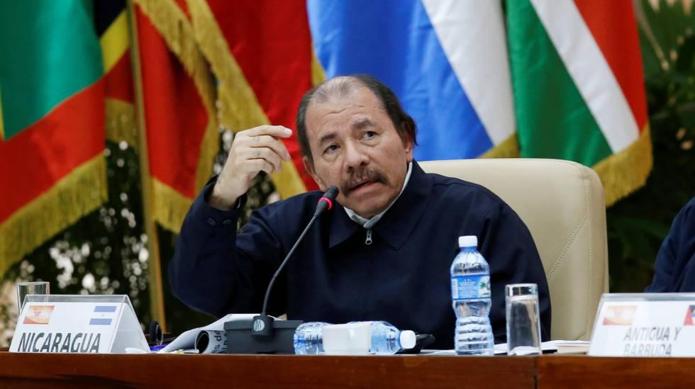 Daniel Ortega, na última sexta-feira em Havana