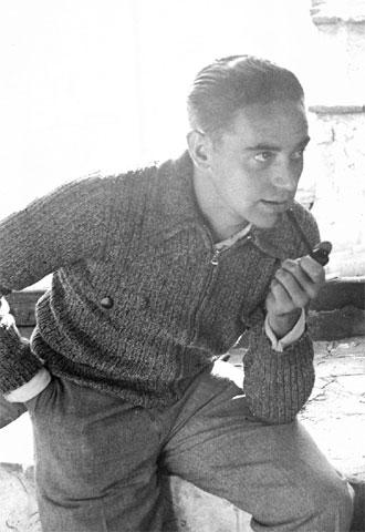 El fotógrafo Manuel Tena, en un autorretrato de la época.