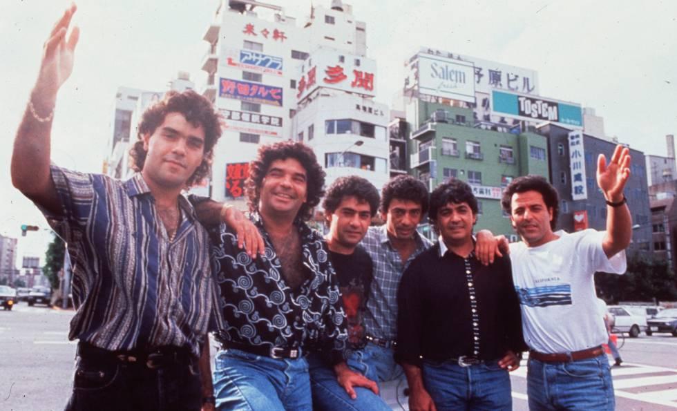 O grupo Gipsy Kings, em uma foto sem data.