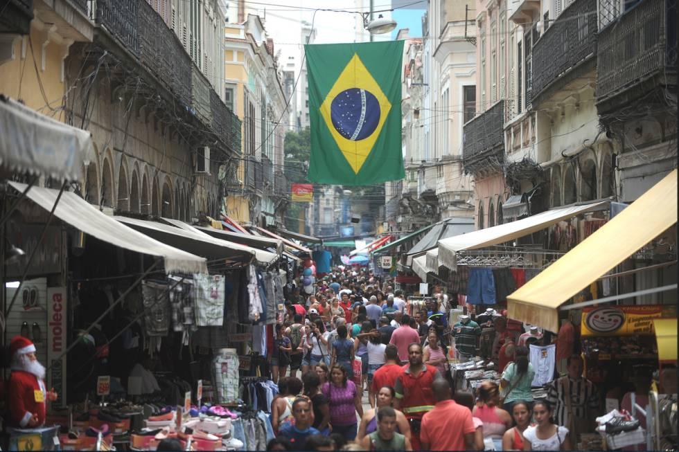 Região do Saara, no centro do Rio.