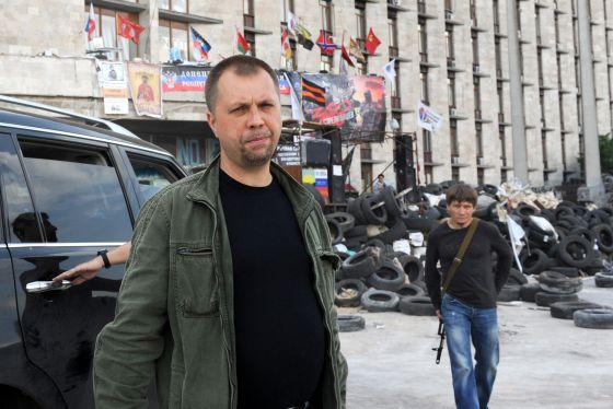 O russo Alexander Borodai, primeiro-ministro de Donetsk.