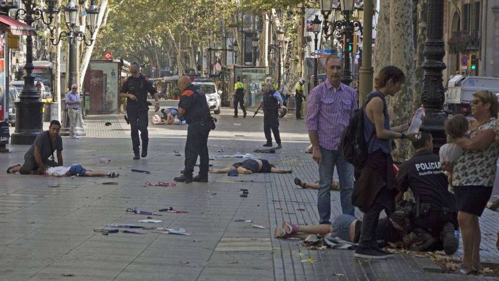 Image result for islamists attack barcelona