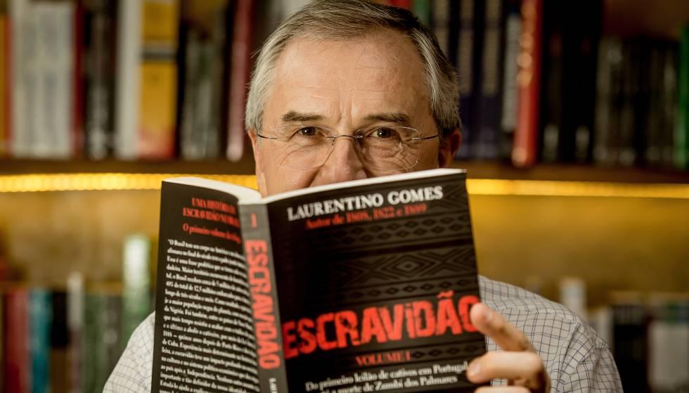O escritor Laurentino Gomes, autor do livro 'Escravidão'