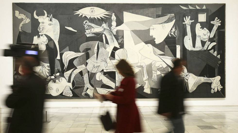O 'Guernica' no Museu Reina Sofía, em Madri.