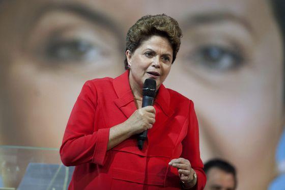 A presidenta Dilma Rousseff, em evento no dia 21.