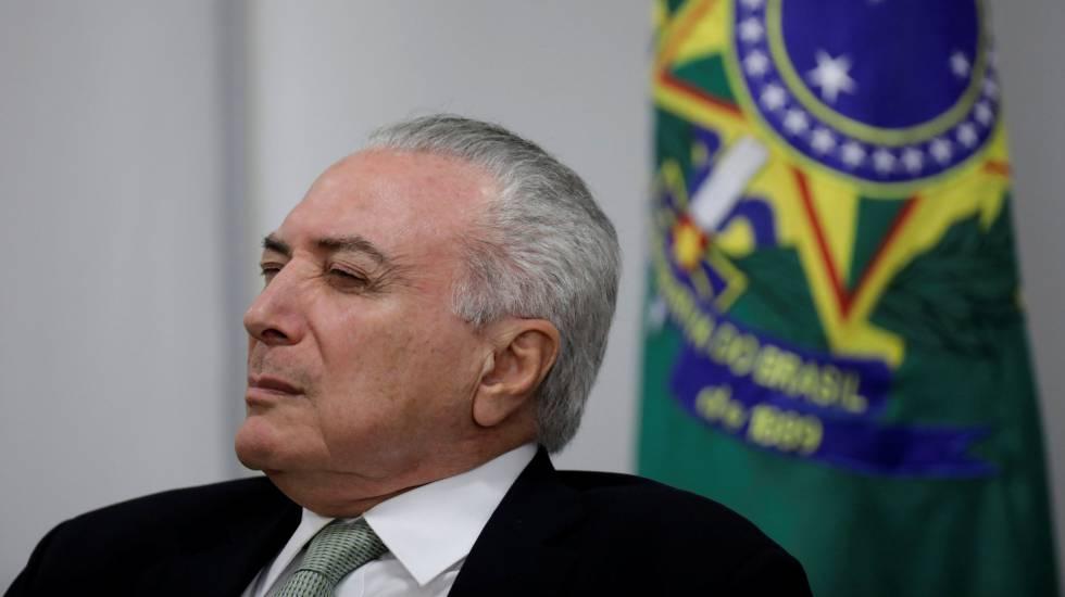 O presidente Michel Temer no dia 12, em Brasília.