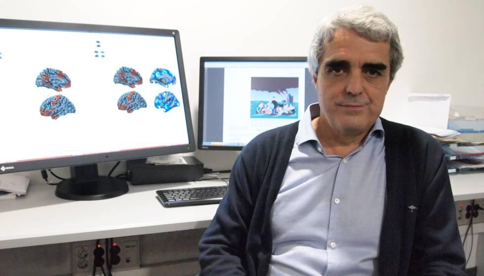 Pujol, o líder da investigação sobre o cérebro dos psicopatas.