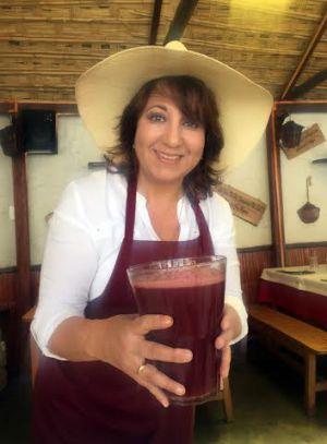 A chef Monica Horta.