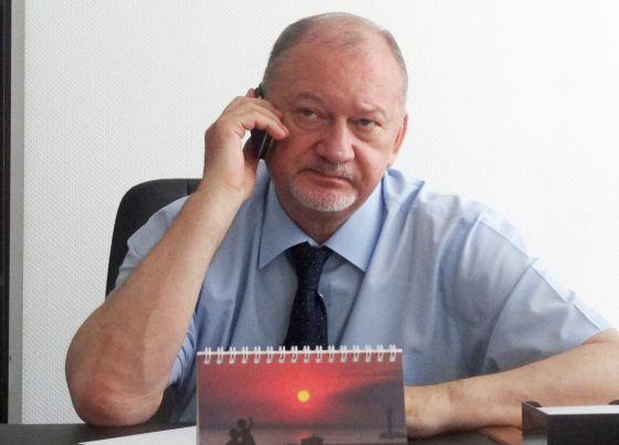 Vladimir Antiufeyev, na sexta-feira em Donetsk.