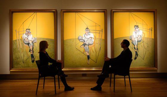 'Três estudos de Lucian Freud', de Francis Bacon.