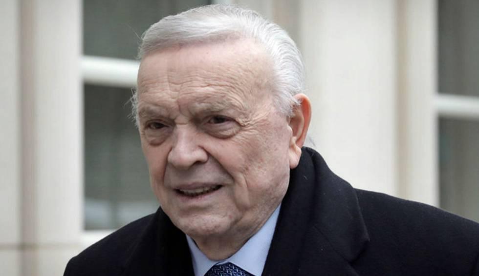 José Maria Marin, condenado por corrupção em escândalo da FIFA.