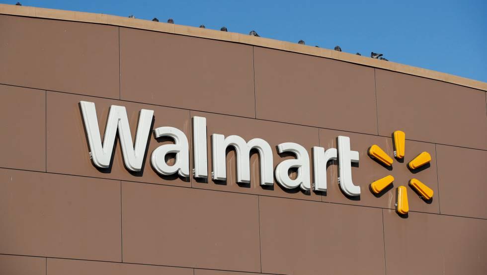 Um hipermercado da rede Walmart.