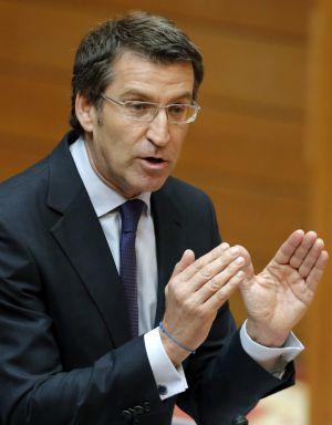 Galician regional leader Alberto Núñez Feijóo.
