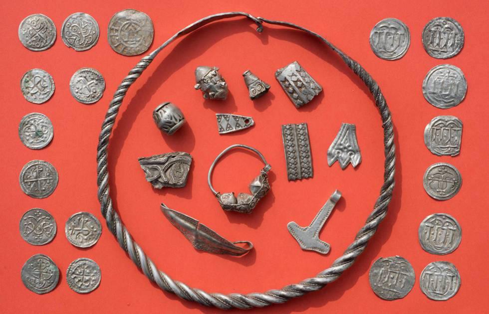 Peças pertencentes ao rei dinamarquês Harald Bluetooth