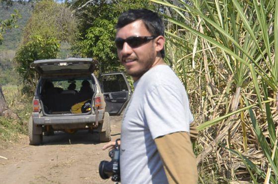 Rubén Espinosa, em Jalapa em janeiro de 2014.