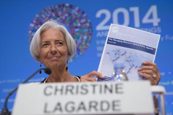 Christine Lagarde, diretora do FMI.